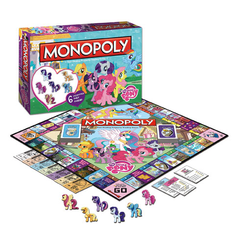 Monopoly - My Little Pony Movies / Books / TV