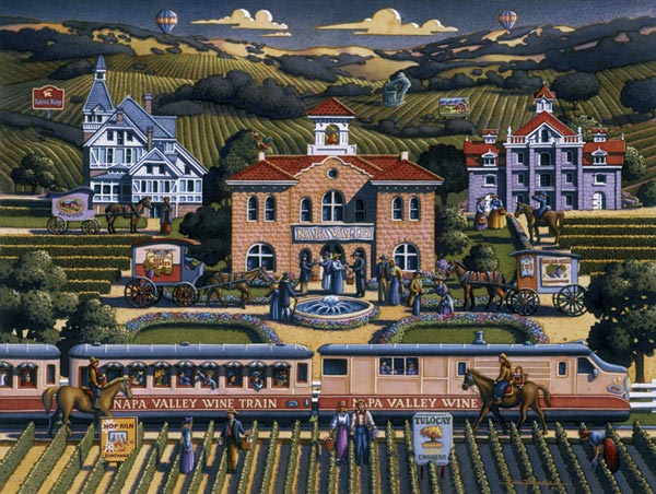 Napa Valley Americana & Folk Art Jigsaw Puzzle