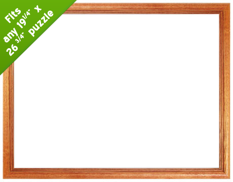 19.25 x 26.75 Wood Frame  Natural - Scratch and Dent