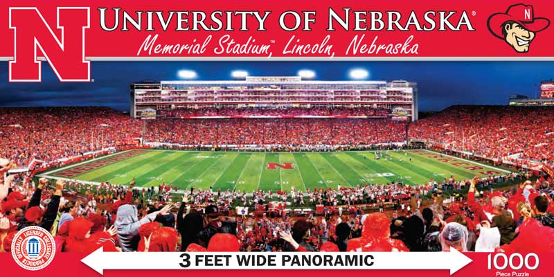 University of Nebraska Sports Jigsaw Puzzle