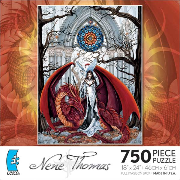 Nene Thomas - Wisdom Gothic Jigsaw Puzzle