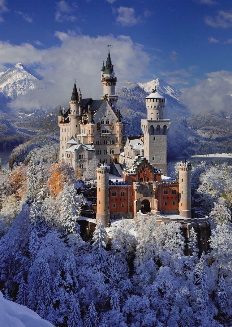 Castle of Neuschwanstein - Scratch and Dent Castles Jigsaw Puzzle