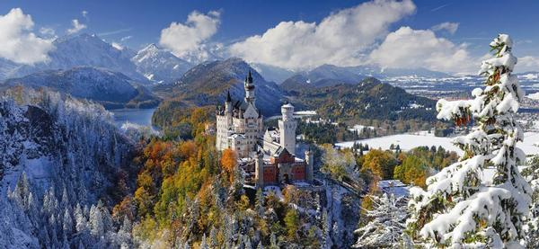 Neuschwanstein Castle - Scratch and Dent Travel Jigsaw Puzzle