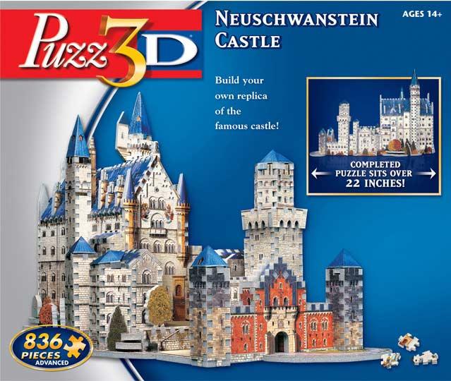 Neuschwanstein Castle - 3D Puzzle Castles 3D Puzzle