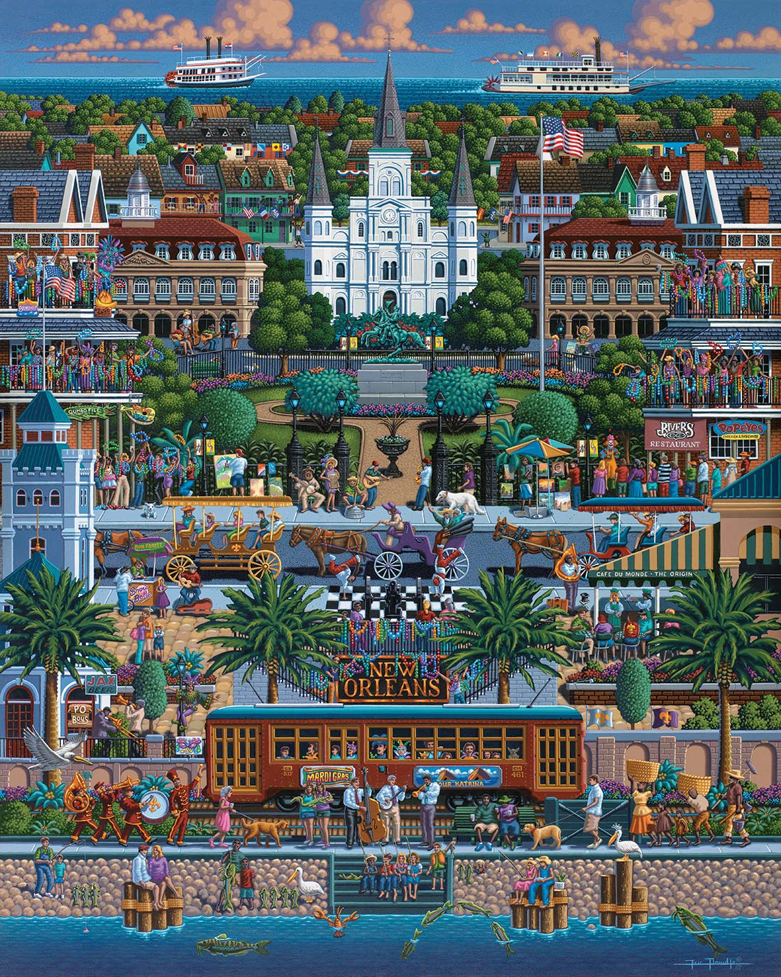 New Orleans United States Jigsaw Puzzle