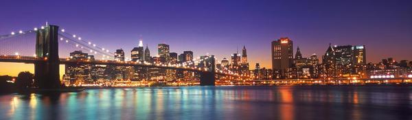 New York City Bridges Panoramic