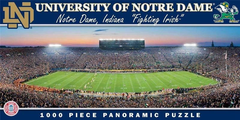 University of Notre Dame Sports Jigsaw Puzzle