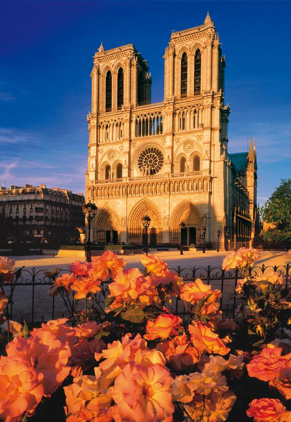 Notre Dame Landmarks Jigsaw Puzzle