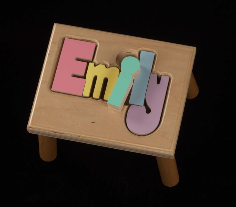 Regular Name Stool Maple Puzzlewarehouse Com
