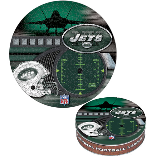 Official NFL New York Jets - Tin Sports Jigsaw Puzzle