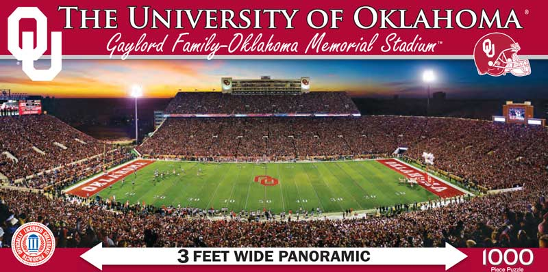 The University of Oklahoma Sports Jigsaw Puzzle
