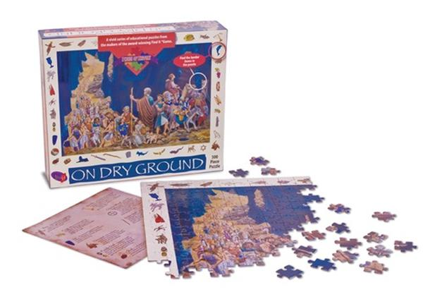 On Dry Ground Puzzle History Jigsaw Puzzle