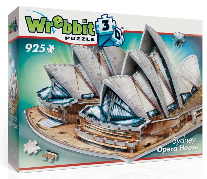 Sydney Opera House - Scratch and Dent Landmarks / Monuments Jigsaw Puzzle