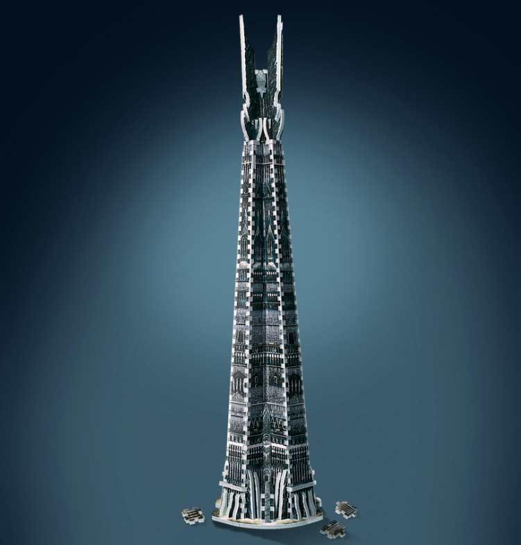 Orthanc Tower, Isengard Fantasy 3D Puzzle