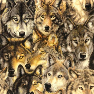 Pack of Wolves Wolves Jigsaw Puzzle