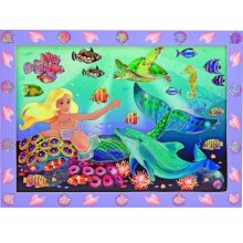 Peel and Press - Mermaid Under The Sea