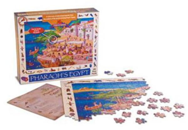 Pharaoh's Egypt Puzzle Egypt Jigsaw Puzzle