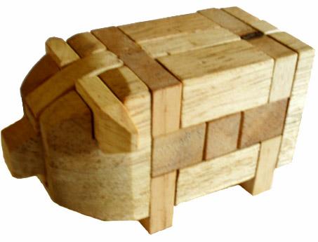 Pig Puzzle Pig