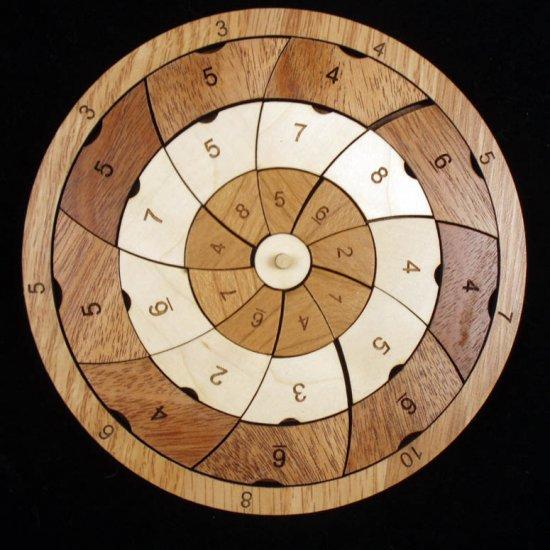 Pinwheel Brainteaser Puzzle