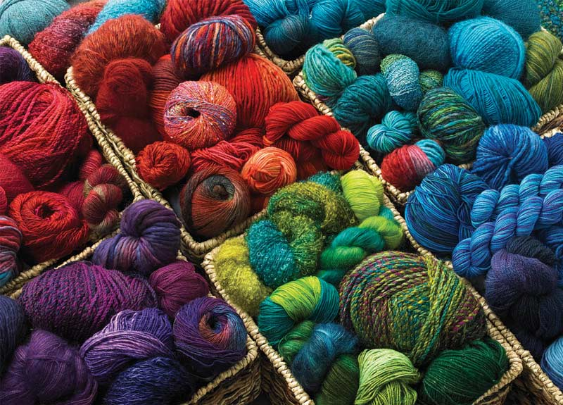 Plenty of Yarn Everyday Objects Jigsaw Puzzle
