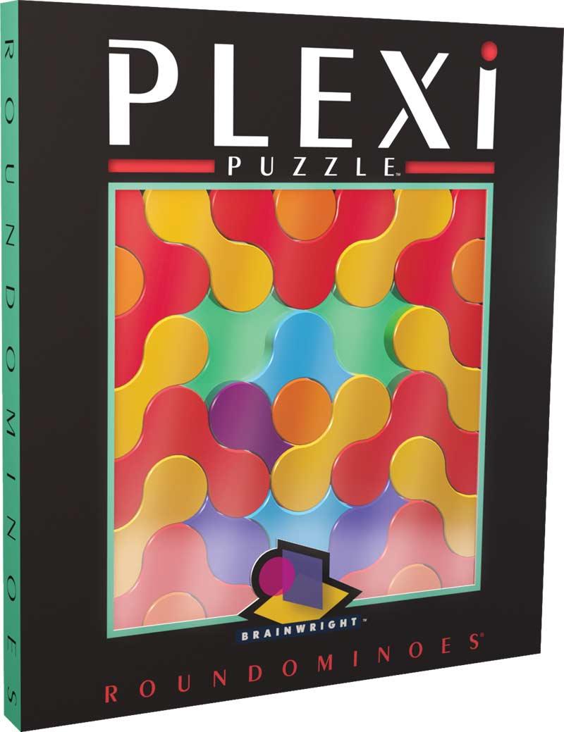 Roundominoes (Plexi Puzzle) Non-Interlocking Puzzle