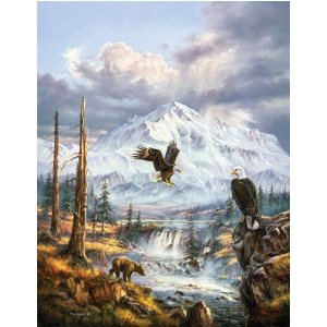 Poachers Eagles Jigsaw Puzzle