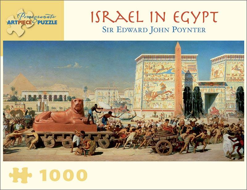 Sir Edward John Poynter - Israel in Egypt Africa Jigsaw Puzzle