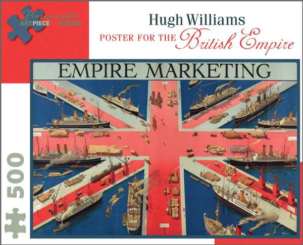 Hugh Williams: Poster for the British Empire History Jigsaw Puzzle