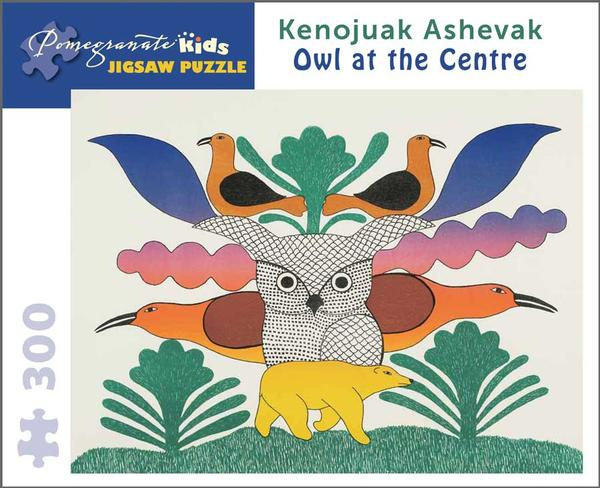 Owl at the Centre Birds Jigsaw Puzzle