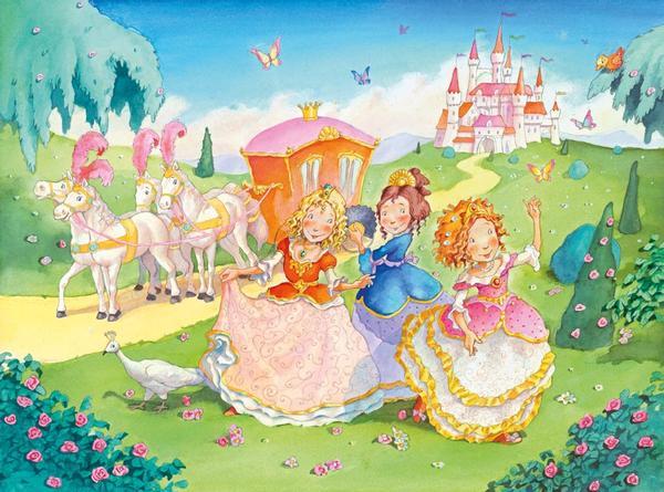 Princess Carriage Ride Princess Jigsaw Puzzle