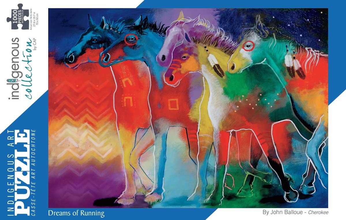 Dreams of Running Horses Jigsaw Puzzle