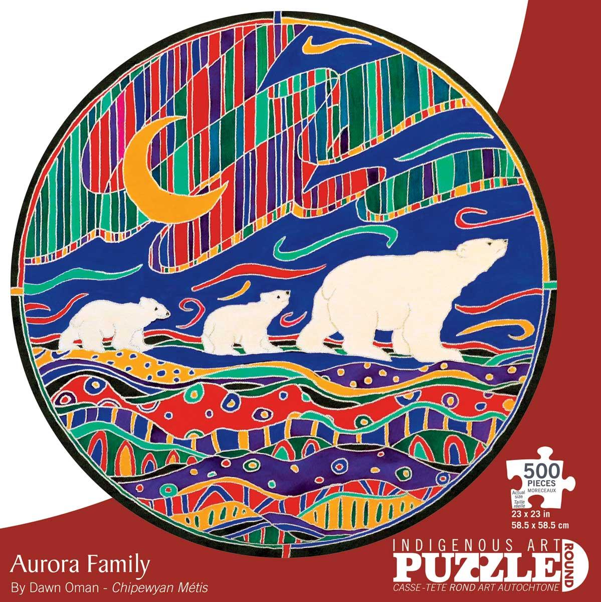 Aurora Family Bears Jigsaw Puzzle