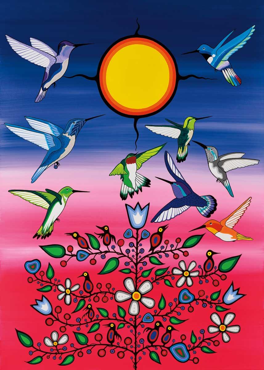 Ancestors Birds Jigsaw Puzzle