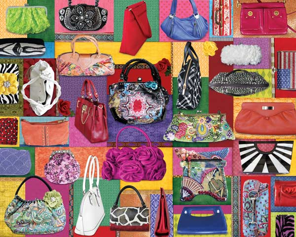 Purses! Purses! Purses! Everyday Objects Jigsaw Puzzle