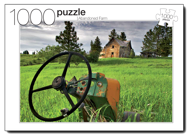 Abandoned Farm Farm Jigsaw Puzzle