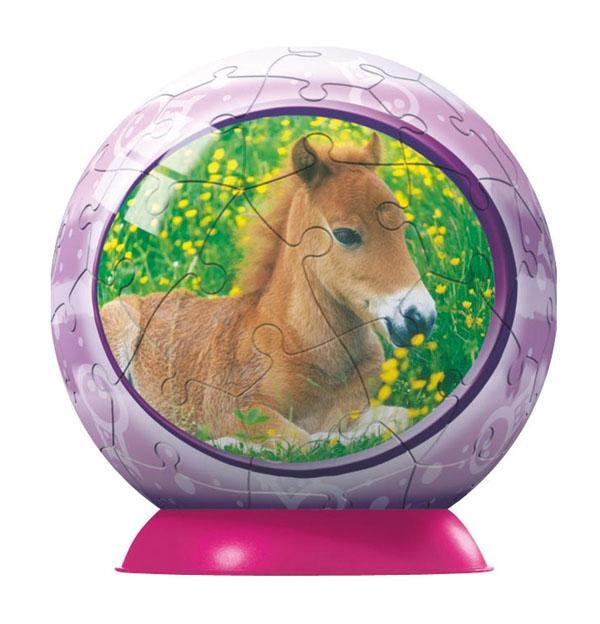 Puzzleball - Animal Babies, Horse (54pc) Horses Puzzleball
