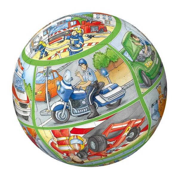 Puzzleball - People at Work (40pc) Educational Children's Puzzles