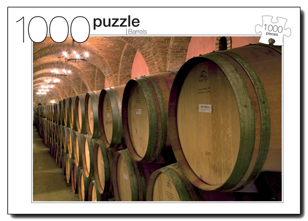Barrels Everyday Objects Jigsaw Puzzle