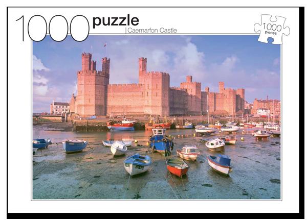 Caernarfon Castle Castles Jigsaw Puzzle