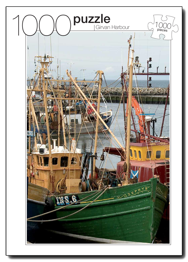 Girvan Harbour Photography Jigsaw Puzzle