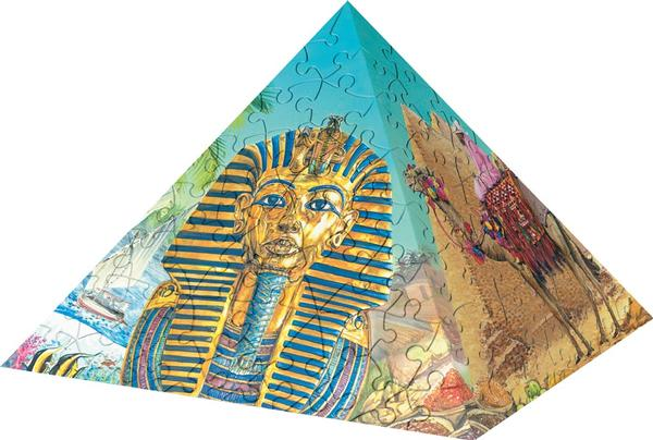 Puzzle Pyramid - Essence of Egypt (216pc) Travel 3D Puzzle