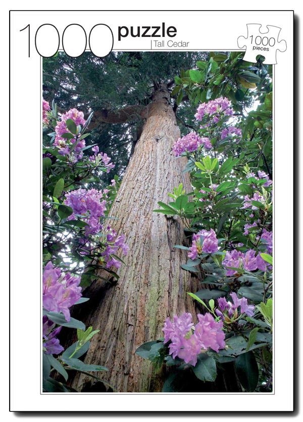 Tall Cedar Photography Jigsaw Puzzle