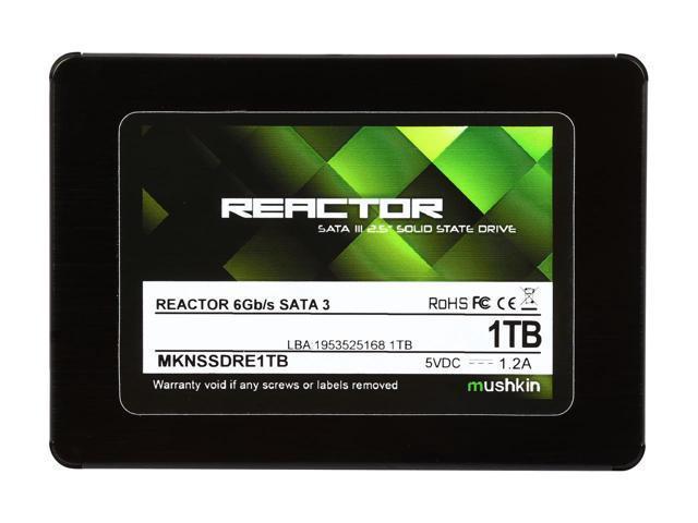 """Mushkin REACTOR 1TB 2.5"""" SATA3 SSD"""