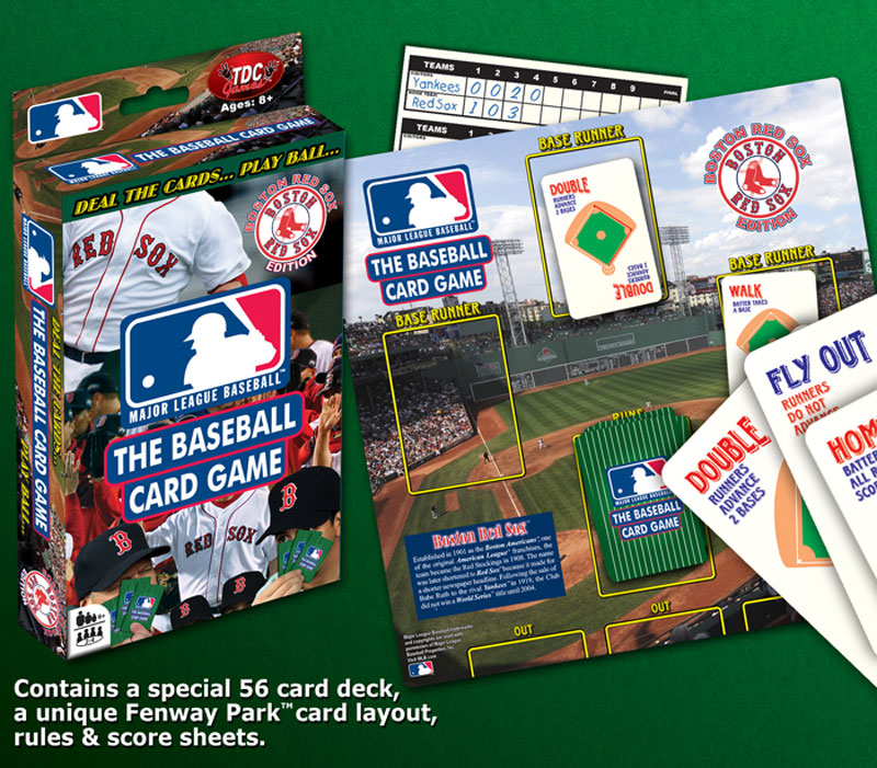 Baseball Card Game Red Sox