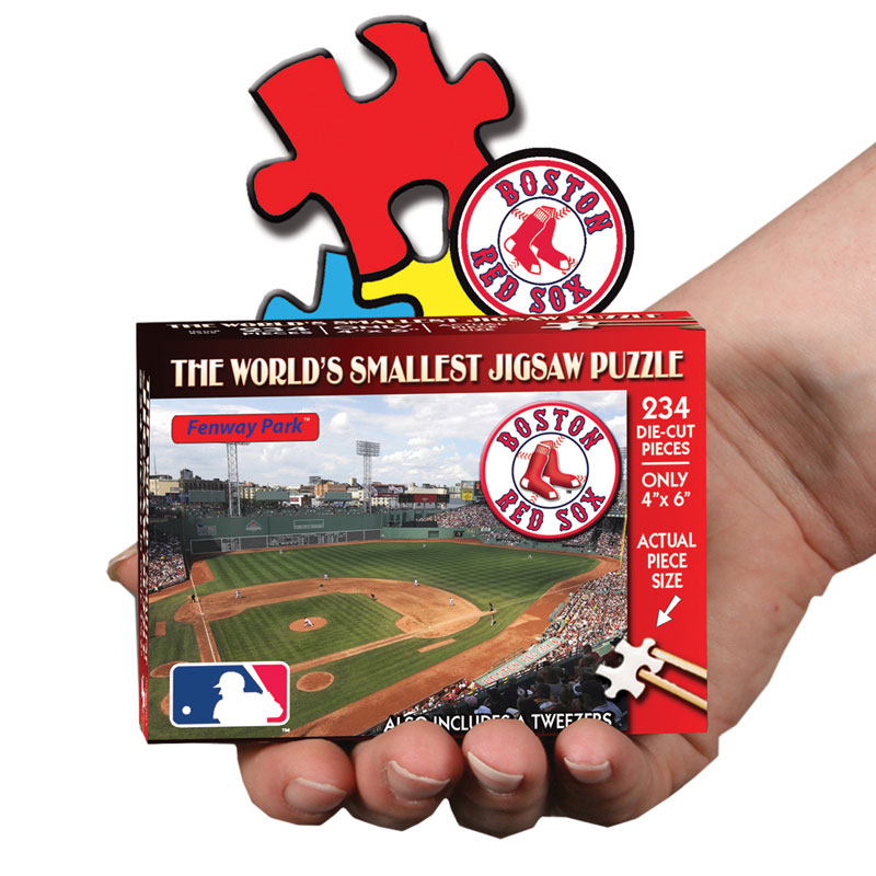 World's Smallest Puzzles MLB - Boston Red Sox Sports Jigsaw Puzzle