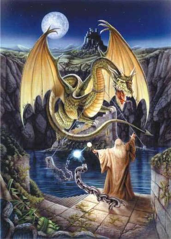 Release of the Dragon Dragons Jigsaw Puzzle
