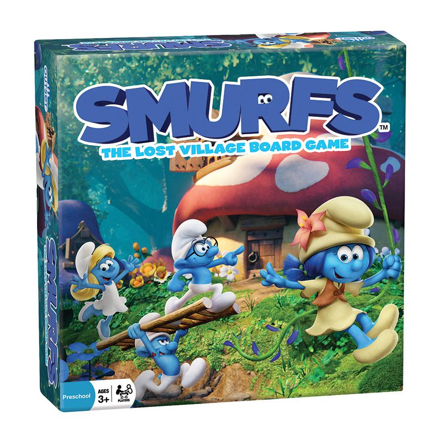 Smurfs: The Lost Village Board Game