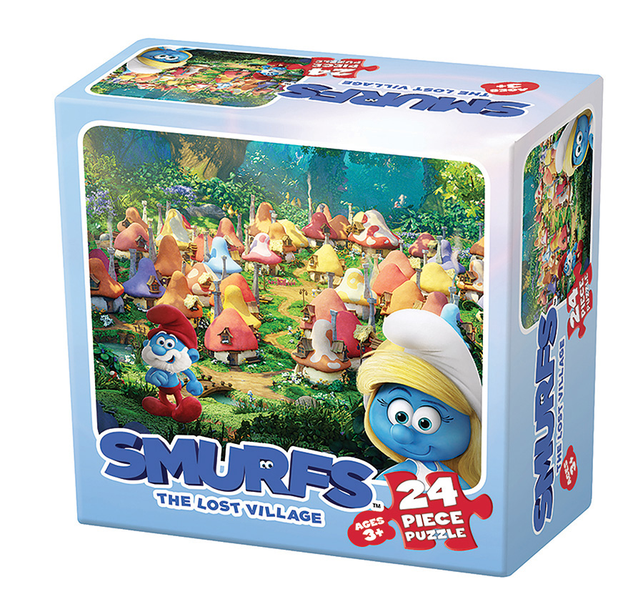 Smurfs: The Lost Village 2 Cartoons Jigsaw Puzzle