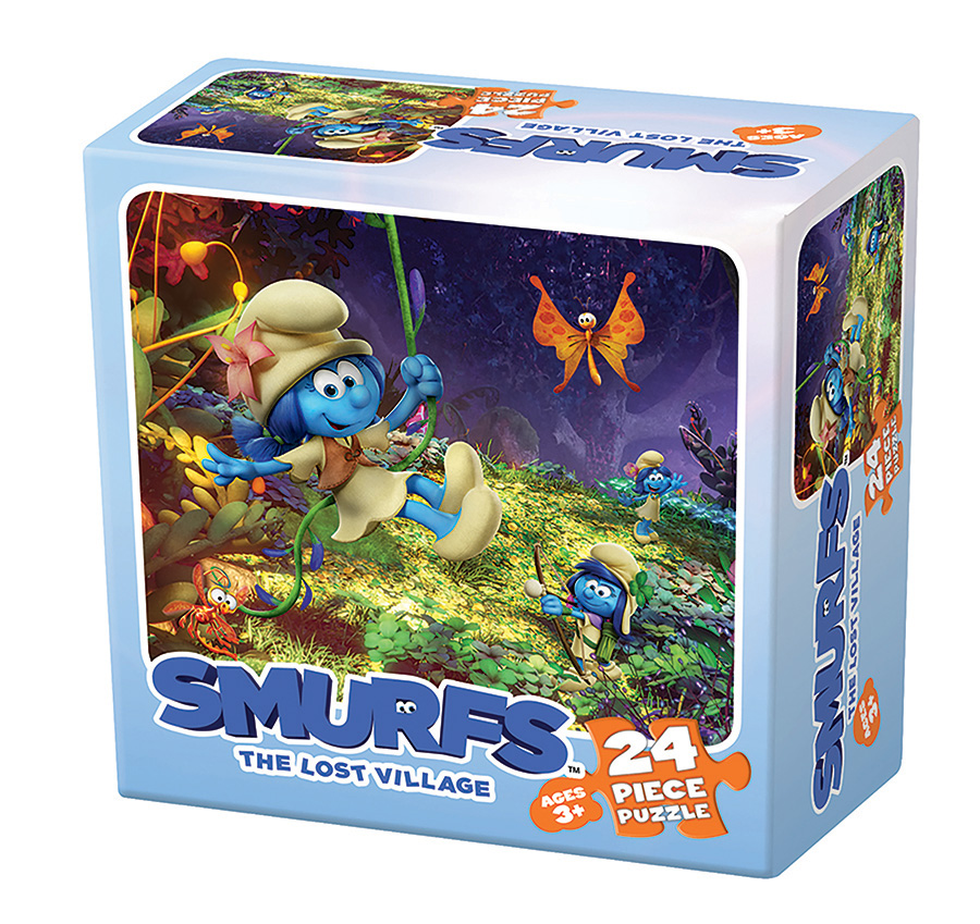 Smurfs: The Lost Village 3 Cartoons Jigsaw Puzzle