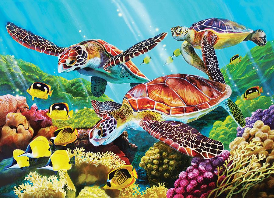 Molokini Current Under The Sea Jigsaw Puzzle